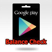 วิธีตรวจสอบยอดคงเหลือ [Google Play Gift Card]