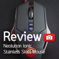 [รีวิว-Review] Neolution E-Sport IONIC Stainless Steel Mouse
