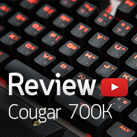 [รีวิว-Review] Cougar 700K Mechanical Gaming Keyboard