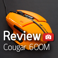 [รีวิว-Review] Cougar 600M Gaming Mouse
