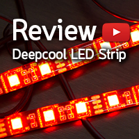 [รีวิว-Review] Deepcool RGB Color LED Strip for Computer