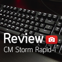 [รีวิว-Review] CM Storm QuickFire Rapid-i Fully Backlit Mechanical Gaming Keyboard