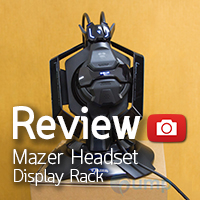 Mazer headset display rack