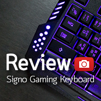 [รีวิว-Review] Signo KB-719 Gaming Keyboard