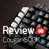 [รีวิว-Review] Cougar 500K Gaming Keyboard