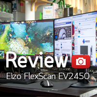 [รีวิว-Review] Eizo FlexScan 23.8 IPS LED EV2450