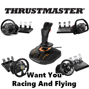 PROMOTION - Thrustmaster Want You Racing And Flying !!