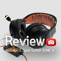 Review : หูฟัง NeoES Super Sonic X Gaming Headset 7.1 Surround