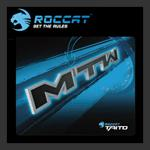 จำหน่าย-ขาย ROCCAT™ Taito – Shiny Black Gaming Mousepad (King size) [MTW]