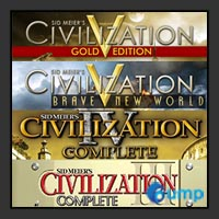 จำหน่าย-ขาย Sid Meiers Civilization® Bundle (CD-Key)