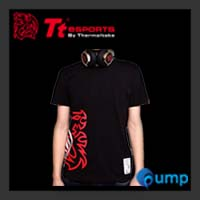 จำหน่าย-ขาย Ttesports Cross Dragon T-shirt [Black]