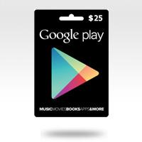 จำหน่าย-ขาย Google Play Gift Card - 25$ (990 บาท)