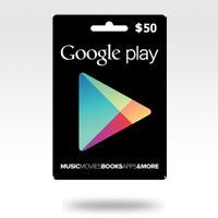 จำหน่าย-ขาย Google Play Gift Card - 50$ (1990 บาท)