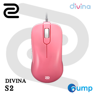 Zowie benQ S2 DIVINA Gaming Mouse - Pink