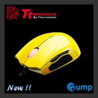 จำหน่าย-ขาย Ttesports Saphira Metallic Yellow Gaming Mouse