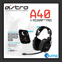 Astro A40 Wired Black + Mixamp Pro Gaming Headset