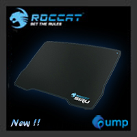 จำหน่าย-ขาย Roccat Siru Pitch Black Mouse Pad