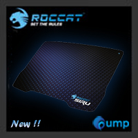 จำหน่าย-ขาย Roccat Siru Cryptic Blue Mouse Pad