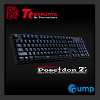 จำหน่าย-ขาย Ttesports Poseidon Z illuminated Mechanical Gaming Keyboard - Blue SW (Key-Thai)