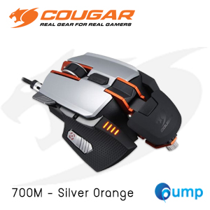 จำหน่าย-ขาย Cougar 700M Laser Gaming Mouse (Silver/Orange)