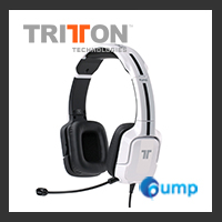 TRITTON Kunai Universal Stereo Headset - for PS4, PS3, and Xbox One, 360, Wii U (White)