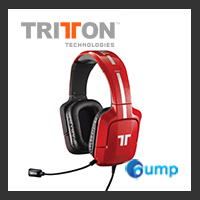 จำหน่าย-ขาย TRITTON Pro+ 5.1 Surround Headset for Xbox 360, PlayStation 4, and PlayStation 3 (Red)