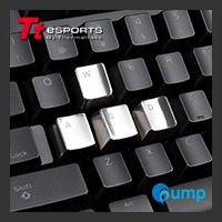จำหน่าย-ขาย Ttesports METALCAPS Gaming Keyboard Accessory Keycaps (W, A, S, D, ESC)