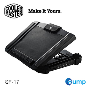Cooler Master CM Storm SF-17 Full Force Cooling for Laptop Gaming