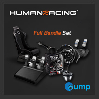 จำหน่าย-ขาย (Promotion Complete Set) HumanRacing GT Chassis (Black) + T300rs + T3PA add-on + TH8A add-on Shifter
