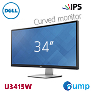 จำหน่าย-ขาย Dell UltraSharp 34 Curved Monitor – U3415W (3440x1440)