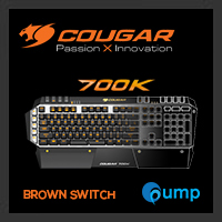 จำหน่าย-ขาย Cougar 700K Machenical Gaming Keyboard (Brown Switch)