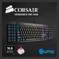 จำหน่าย-ขาย Corsair K95 Cherry MX RGB Red Switch Mechanical Gaming Keyboard