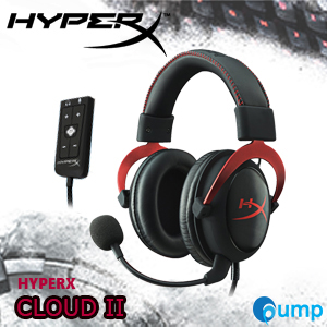จำหน่าย-ขาย Kingston HyperX Cloud II Gaming Headset (Red)