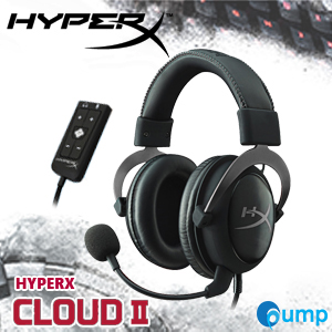 จำหน่าย-ขาย Kingston HyperX Cloud II Gaming Headset (Gun Metal)