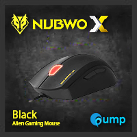 จำหน่าย-ขาย Nubwo X4 Alien Gaming Mouse (Black Edition)