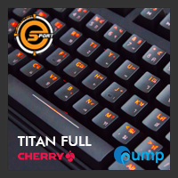 จำหน่าย-ขาย Neolution E-Sport TITAN FULL Red Switch Mechanical Keyboard [Thai-Key]