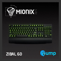 จำหน่าย-ขาย Mionix Zibal 60 Mechanichal Gaming Keyboard (Cherry MX Black)
