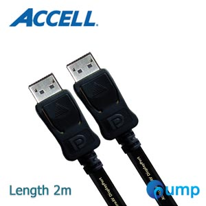 จำหน่าย-ขาย Accell UltraAV® DisplayPort to DisplayPort Version 1.2 Cable (6.6ft, 2m)