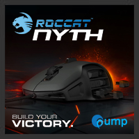 จำหน่าย-ขาย Roccat Nyth Modular MMO Gaming Mouse (Black)