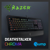 จำหน่าย-ขาย Razer Deathstalker Chroma Gaming Keyboard (Key-Thai)