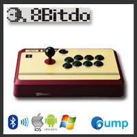 จำหน่าย-ขาย 8Bitdo FC30 Wireless Bluetooth Arcade Joystick