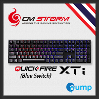 CM Storm QuickFire XTi Multi-Color Backlit Mechanical Keyboard (Blue Switches)