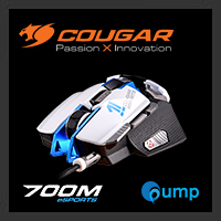 จำหน่าย-ขาย Cougar 700M eSPORTS Gaming Mouse (White)