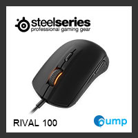 จำหน่าย-ขาย Steelseries Rival 100 Gaming Mouse (Black)
