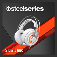 จำหน่าย-ขาย Steelseries Siberia 650 Gaming Headset (White)