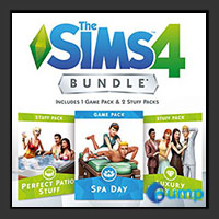 จำหน่าย-ขาย The Sims 4 Bundle Pack (Spa Day , Perfect Patio Stuff , Luxury Party Stuff) (ภาคเสริม)