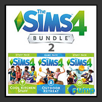 จำหน่าย-ขาย The Sims 4 Bundle Pack 2 (Outdoor Retreat , Cool Kitchen Stuff , Spooky Stuff) (ภาคเสริม)