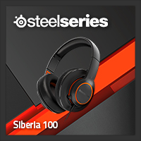 จำหน่าย-ขาย Steelseries Siberia 100 Gaming Headset (Black)