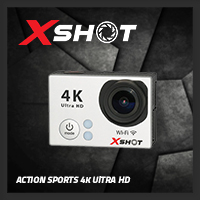 จำหน่าย-ขาย XSHOT Action Sports Camera 4K (White)