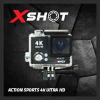 จำหน่าย-ขาย XSHOT Action Sports Camera 4K (Black)